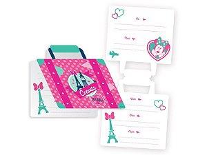 Convite Festa Minnie Rosa - 10cm x 11cm - 08 unidades - Regina - Rizzo Festas