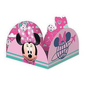 Porta Forminha para Doces Festa Minnie Rosa - 50 unidades - Regina - Rizzo Festas