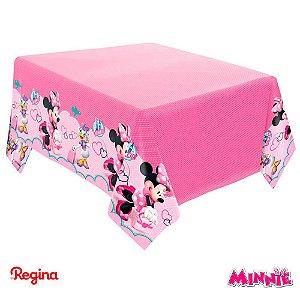 Toalha De Mesa Festa Minnie Rosa - 01 unidade - Regina - Rizzo Festas