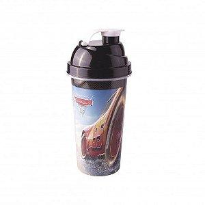 Shakeira de Plástico Festa Carros - 580ml - 01 unidade - Plasútil - Rizzo Festas