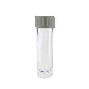 Mini Tubete Lembrancinha Prata 9cm 10 unidades - Rizzo Embalagens e Festas