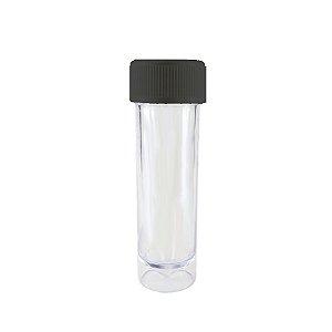 Mini Tubete Lembrancinha Preto 9cm 10 unidades - Rizzo Embalagens e Festas