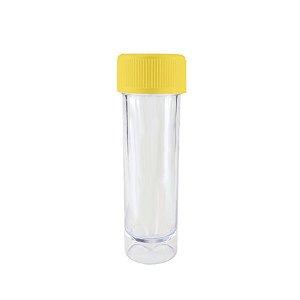 Mini Tubete Lembrancinha Amarelo 9cm 10 unidades - Rizzo Embalagens e Festas