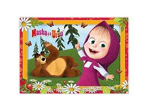 Painel Gigante Decorativo Festa Masha e o Urso - Regina - Rizzo Festas