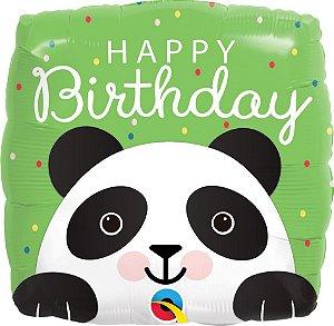 Balão Metalizado Festa Panda - 18'' - Qualatex - Rizzo festas