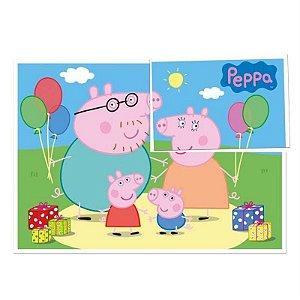 Painel Gigante Decorativo Festa Peppa Pig - Regina - Rizzo Festas