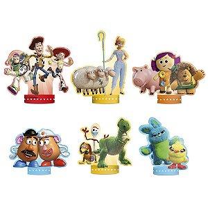 Decoração de Mesa Festa Toy Story 4 - 06 unidade - Regina - Rizzo Festas