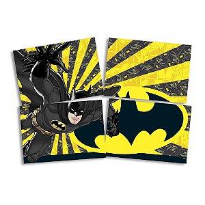Painel Decorativo Festa Batman Geek - 01 unidade - Festcolor - Rizzo Festas