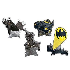 Decoração de Mesa Festa Batman - 08 unidades - Festcolor - Rizzo Festas
