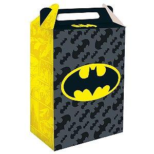 Caixa Surpresa Festa Batman - 08 unidades - Festcolor - Rizzo Festas