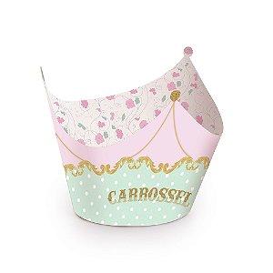 Forminha Wrap para Cupcake Festa Carrossel - 12 unidades - Cromus - Rizzo Festas