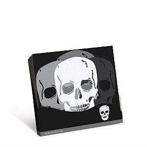 Guardanapo Festa Skull - 25cm - 20 unidades - Cromus - Rizzo Festas