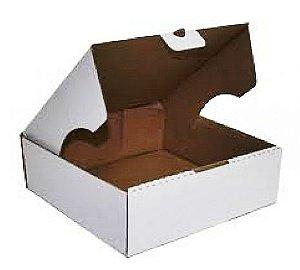 Caixa Para Transporte de Bolo Branca - 40x40x12cm - Rizzo Embalagens