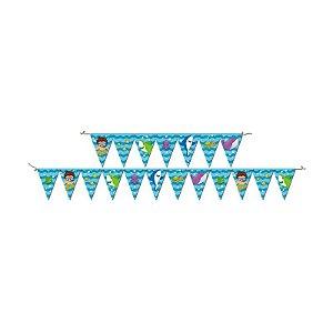 Faixa Decorativa Festa Fundo do Mar - Festcolor - Rizzo Festas