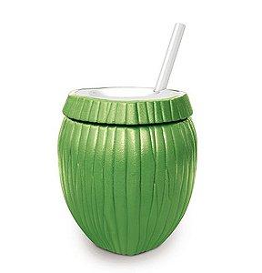 Copo de Plástico Coco Verde 800ml - 1 unidade - Injetemp - Rizzo Festas