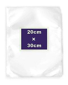 Saco Transparente a Vácuo 20x30cm - Rizzo Embalagens