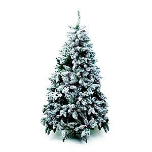 Árvore de Natal Mont Nevada Blanc Verde 2,10m - 01 unidade - Cromus Natal - Rizzo Embalagens