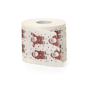 Papel Higiênico Papai Noel 20m - Cromus Natal - Rizzo Embalagens