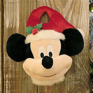 Mickey Enfeite de Porta 40cm - Natal Disney - Cromus - Rizzo Embalagens