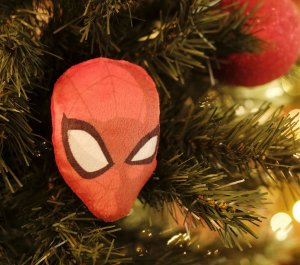 Enfeite para Pendurar Homem Aranha 10cm - 01 unidade Natal Disney - Cromus - Rizzo Embalagens
