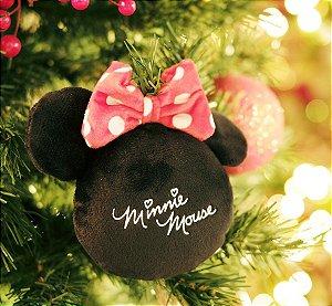 Enfeite para Pendurar Minnie Mouse Assinatura 15cm - 01 unidade Natal Disney - Cromus - Rizzo Embalagens