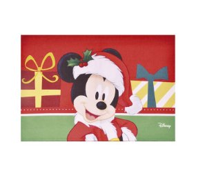 Jogo Americano Mickey Mouse 48cm - 01 unidade Natal Disney - Cromus - Rizzo Embalagens
