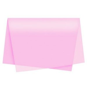 Papel de Seda Rosa Claro - 50x70cm - Rizzo Embalagens
