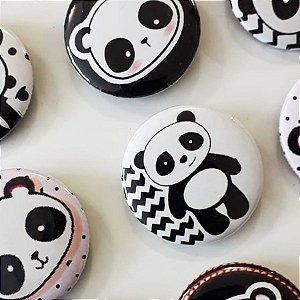 Bottom para Lembrancinha Festa Panda - 12 unidades - Rizzo Embalagens