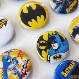 Bottom para Lembrancinha Festa Batman- 12 unidades - Rizzo Embalagens