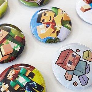 Bottom para Lembrancinha Festa Minecraft - 12 unidades - Rizzo Embalagens