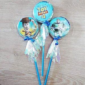 Pirulito Lembrancinha Festa Toy Story- 10 unidades - Rizzo Festas