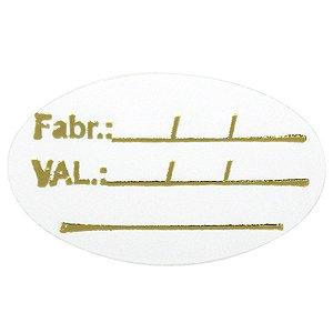 Etiqueta Validade - 100 unidades - Massai - Rizzo Embalagens