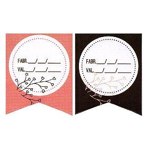 Etiqueta Adesiva Fabricação e Validade Cod. 149 c/ 20 un. Papieri - Rizzo Embalagens