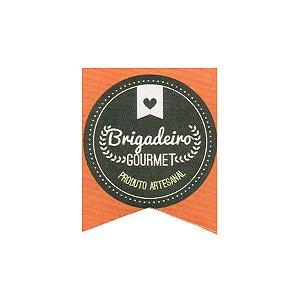 Etiqueta Adesiva Brigadeiro Gourmet Cod. 147 c/ 20 un. Papieri - Rizzo Embalagens