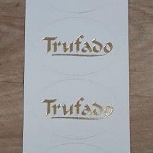 Etiqueta Trufado - 100 unidades - Decorart - Rizzo Embalagens