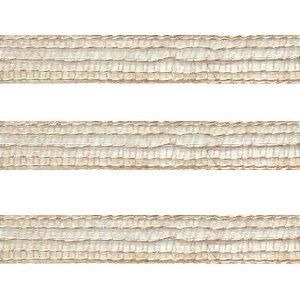 Fita de Juta aramada- 7020/10 - 10mt - Rizzo Embalagens