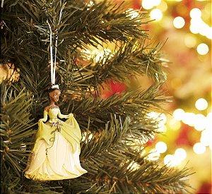 Enfeite para Pendurar Laço Minnie 10cm - 01 unidade - Natal Disney - Cromus - Rizzo Embalagens