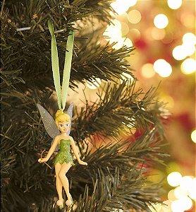 Enfeite para Pendurar Princesa Tinkerbell 10cm - 01 unidade - Natal Disney - Cromus - Rizzo Embalagens