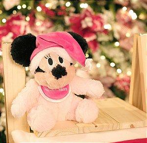 Minnie Baby de Pelúcia 22cm - 02 unidades - Natal Disney - Cromus - Rizzo Embalagens
