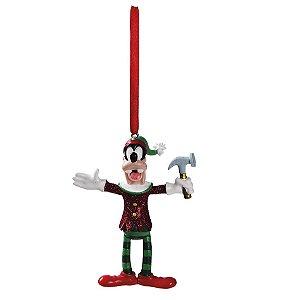 Enfeite para Pendurar Pateta com Martelo 10cm - 01 unidade - Natal Disney - Cromus - Rizzo Embalagens