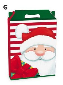 Caixa Maleta Retangular Magia de Natal - Cromus Natal - Rizzo Embalagens
