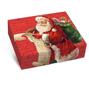 Caixa para Presente Tampa e Fundo - Noite Mágica - Cromus - Rizzo Embalagens e Festas