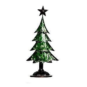 Árvore de Natal em Metal 40cm x 20cm - Natal Cromus - Rizzo Embalagens e Festas