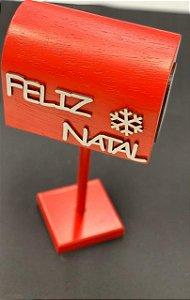 Caixa Correio Decorativa MDF - 01 unidade - Cromus Natal - Rizzo Embalagens