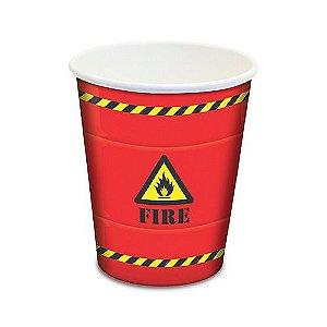 Copo de Papel 300ml - Festa Free Fire - 08 Unidades - Junco - Rizzo Festas
