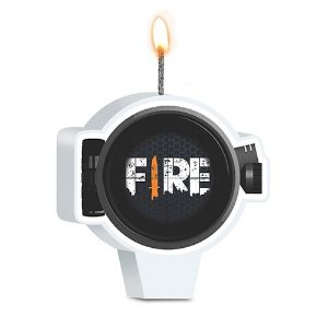 Vela de Aniversário - Festa Free Fire - 01 Unidade - Junco - Rizzo Festas