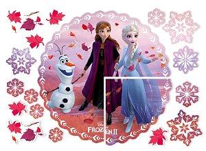 Painel de Montar Decorativo Festa Frozen 2 - Regina - Rizzo Festas