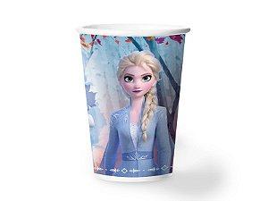 Copo de Papel 180ml Festa Frozen 2 - 08 unidades - Regina - Rizzo Festas