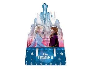 Porta Talher Festa Frozen 2 - 8 unidades - Regina - Rizzo Festas