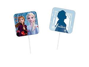 Pick Decorativo Festa Frozen 2 - 08 unidades - Regina - Rizzo Festas